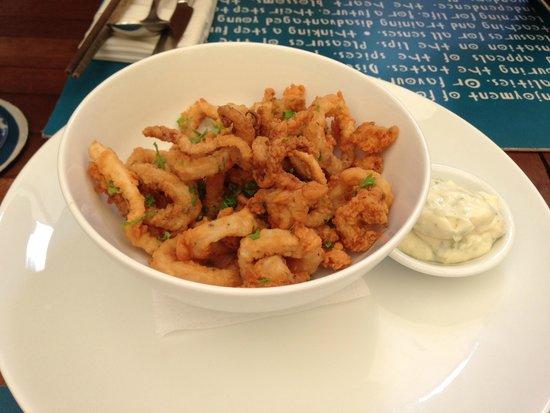 Haven: salt and pepper calamari