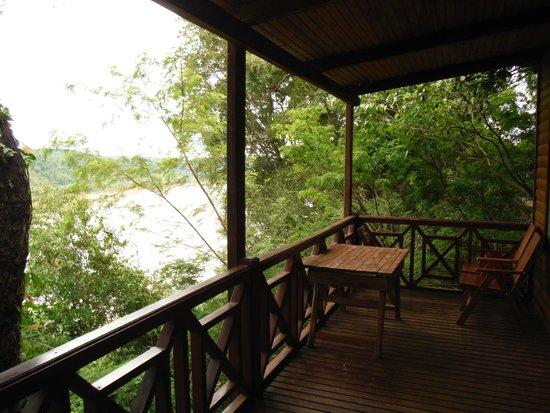 Cabanas Panambi: porche