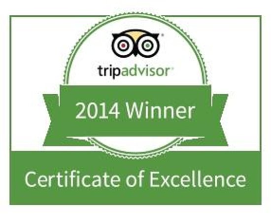 Acacias Bed & Breakfast : We are proud to be Winner of Excellence in 2014 and 2013