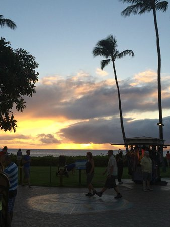 Leilani's On The Beach: View right outside of restaurant