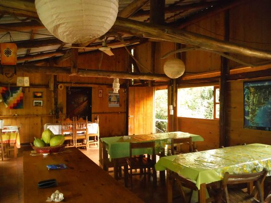 Cabanas Panambi: comedor