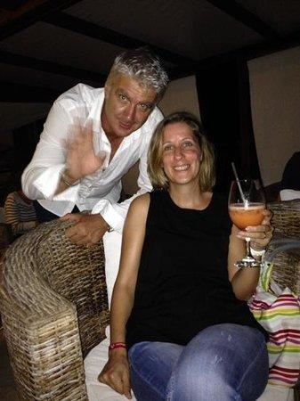 Las Palmas : Didier et cocktail !