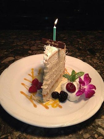 Port Land Grille: not your ordinary coconut cake