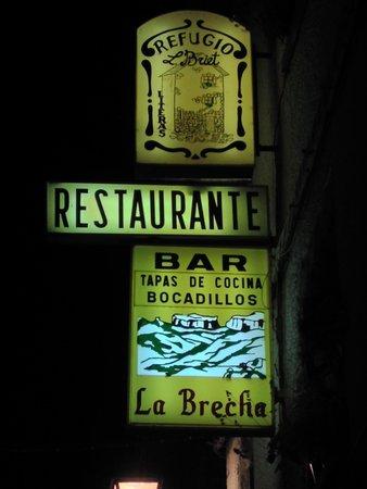 Resultado de imagen de RESTAURANTE LA BRECHA TORLA