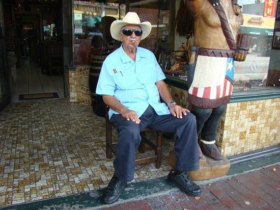 Gente en la Little Havana