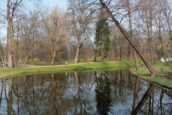 Łazienki-Park (Park der Bäder): Lazienki Park