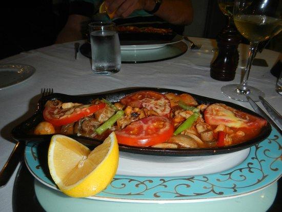 Alba Royal Hotel: ужин в аля-карт ресторане