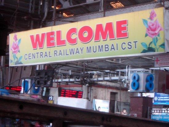 Chhatrapati Shivaji Terminus: Welcome to CST