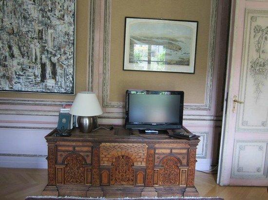 Mein lieber Schwan: living room