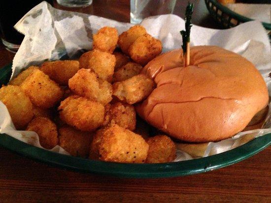 The Blue Door Pub : Burger