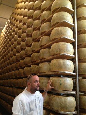 Italian Days Food Experience: Parnigiano Regiano