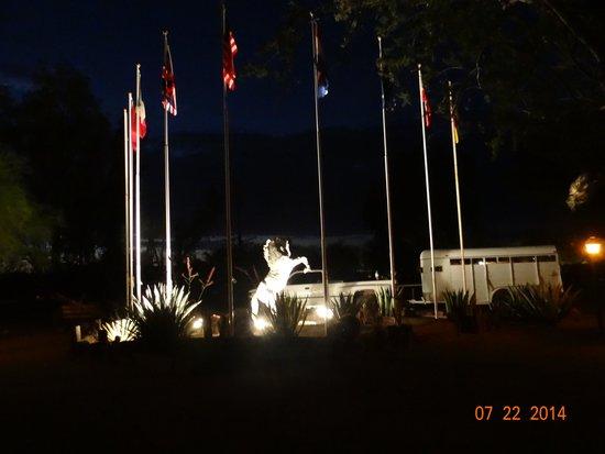White Stallion Ranch: more whie stallion