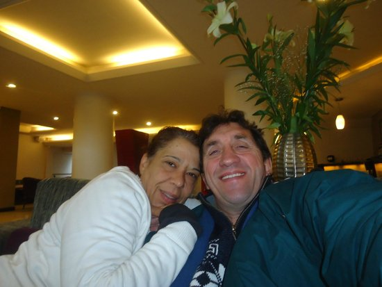 Hotel Crans Montana: Relajados y romanticos