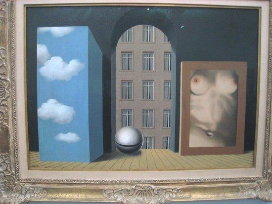 Groeningemuseum: Magritte's .L'Attentat