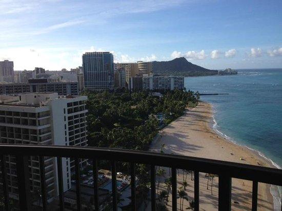 Hilton Hawaiian Village Waikiki Beach Resort : Rainbow Tower, Diamond Head View