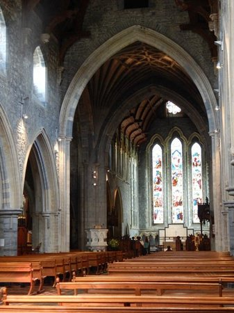St. Canice's Cathedral & Round Tower : Interior View
