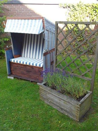 Haus Hannah : Terrasse u. Gartenbereich