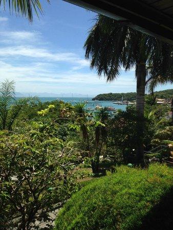 Atlantico Buzios Hotel : Vista desde habitación hacia el mar