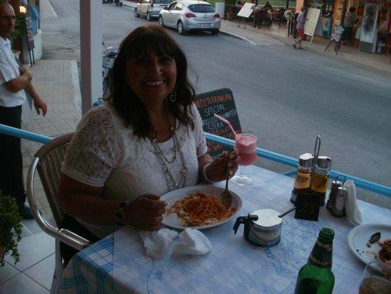 Mediterranean Restaurant: srecial coctail!!!!