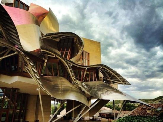 Hotel Marques de Riscal a Luxury Collection Hotel: At the end of the day.
