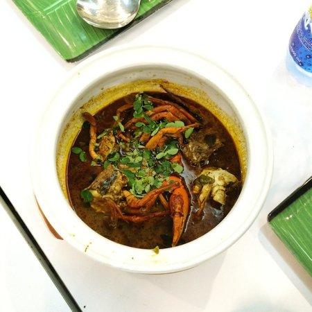 Upali's: Jaffna Crab curry