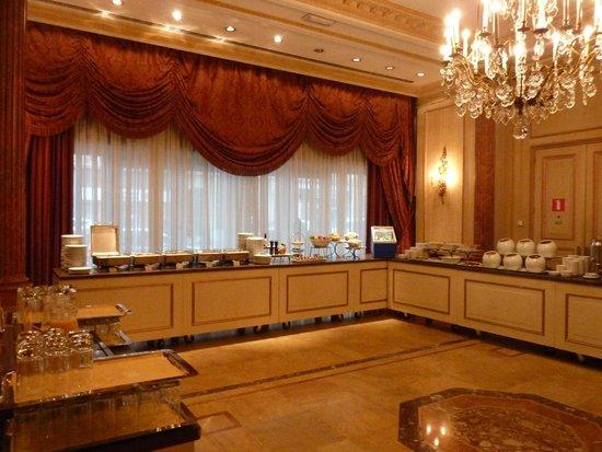 Hotel Le Plaza : breakfast buffet