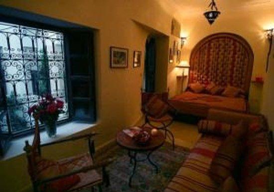 Riad Anabel: Vue de la chambre