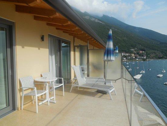 Hotel Val di Sogno: Our Balcony