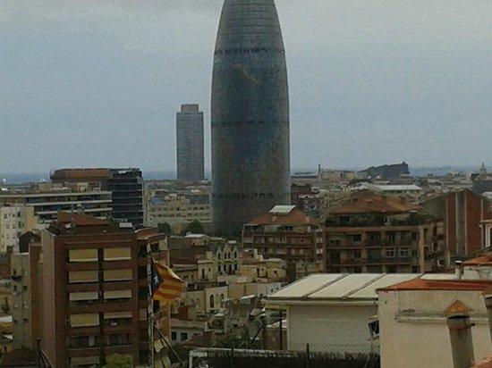 Catalonia Atenas Hotel: panorama