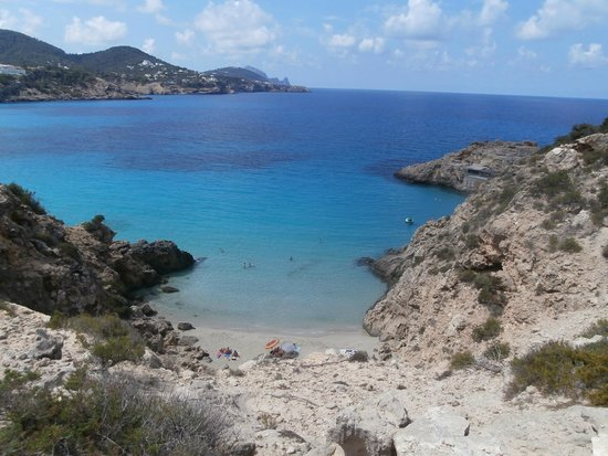 Hotel Playasol Cala Tarida : Una cala de Cala Tarida