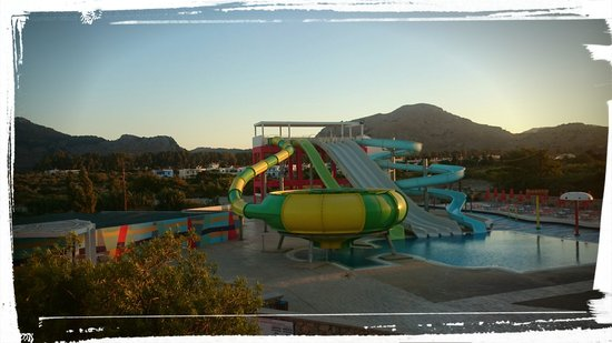 Mikri Poli Rhodos Resort: park wodny