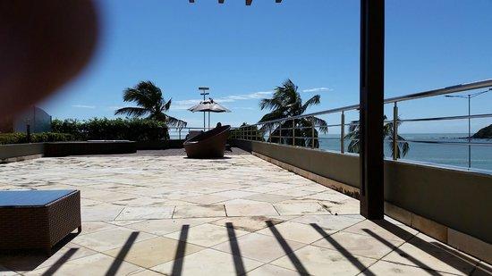 Aquaria Natal Hotel : sacada da suite master