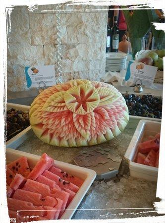 Mikri Poli Rhodos Resort: dekoracje stolu