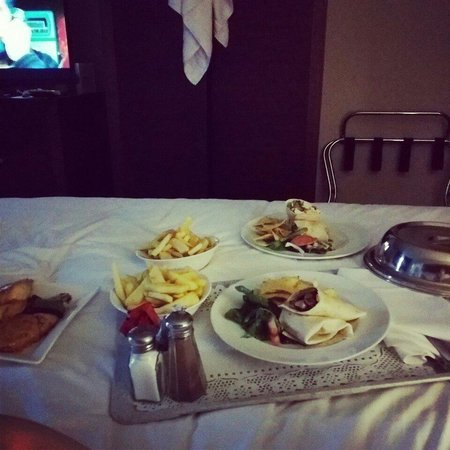 Holiday Inn Dumfries: Room Service