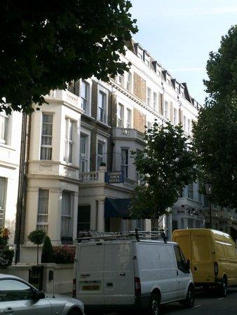 London Town Hotel : En un bonito rincón de Londres