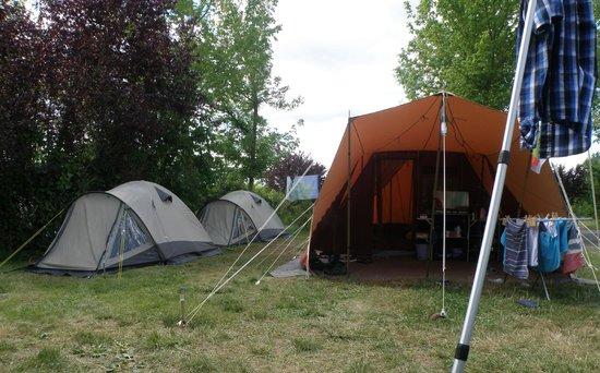 Campsites Le Parc de Fierbois: onze plek