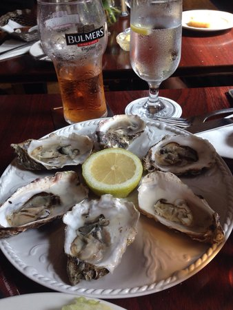 Aherne's of Youghal : Fresh oysters