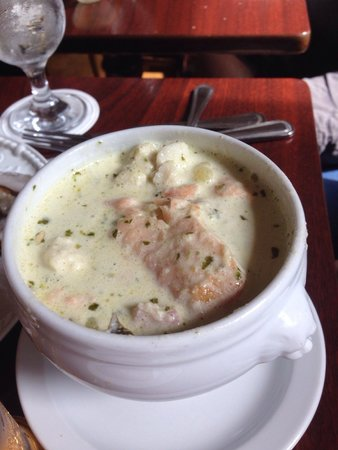 Aherne's of Youghal: The best seafood chowder - ever .  Truly spectacular .
