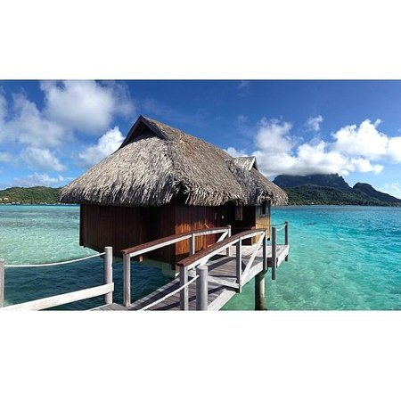 Sofitel Bora Bora Private Island : Our room in paradise!