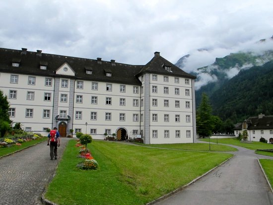 Cheese Factory at Engelberg : the monastery