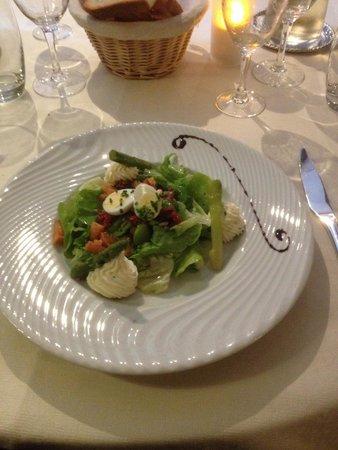 Auberge le John Steele : Geweldige salade!