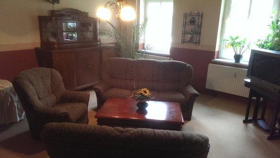 Pension Wegerich: Comfortable sofas