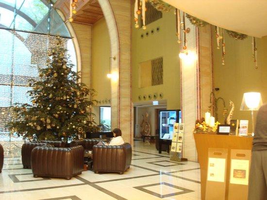 Continental Hotel Budapest : Réception Hôtel Continental Zara