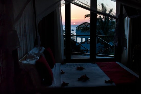 The Z Hotel Zanzibar: Sunset from the room