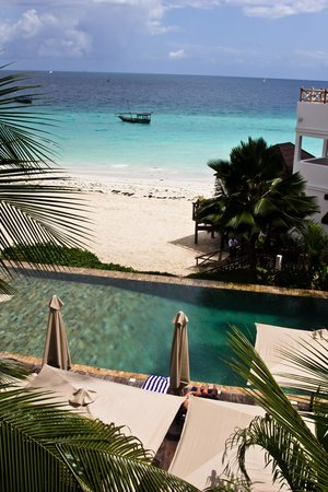 The Z Hotel Zanzibar: View from the room