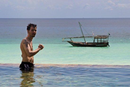 The Z Hotel Zanzibar: View from the pool