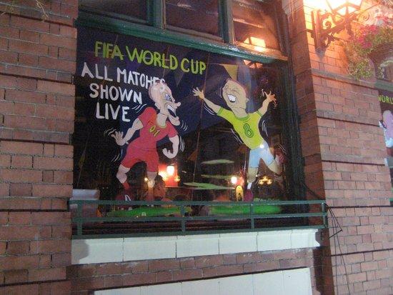 O'Sheas Hotel: World Cup!