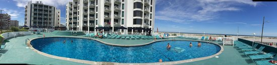 Bal Harbour Hotels: Pool Deck (From Beach)