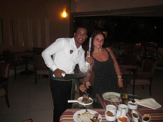 Hard Rock Hotel & Casino Punta Cana: Resto Ipanema, increíble la atención y la comida