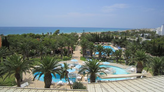 Hotel Manar : View from family room